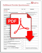 Filled questionnaire icon