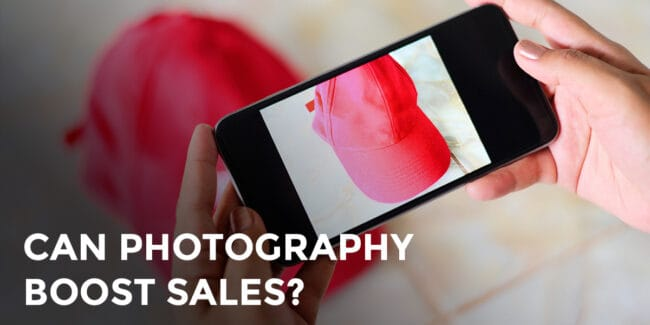 eCommerce photography red hat