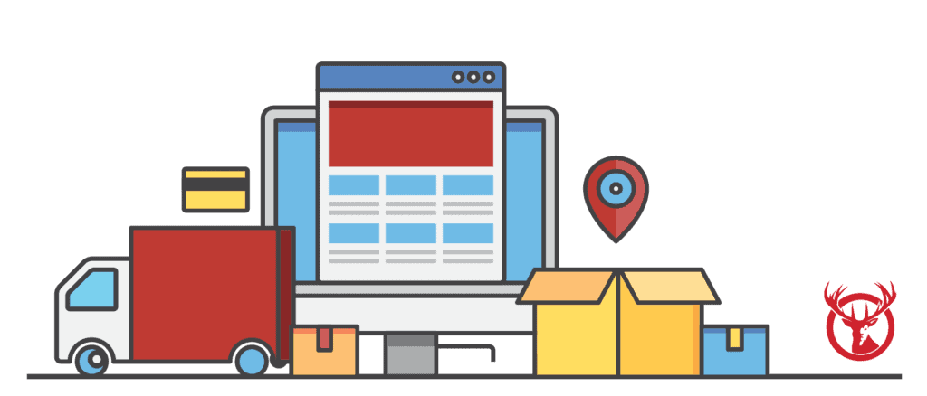 Outsourced fulfillment for online retail