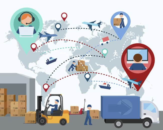 third-party logistics provider offering