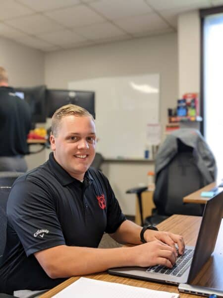 Jackson Griffith is an Account Manager for Red Stag Fulfillment