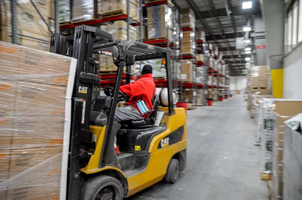 eCommerce Growth in RSF warehouse center