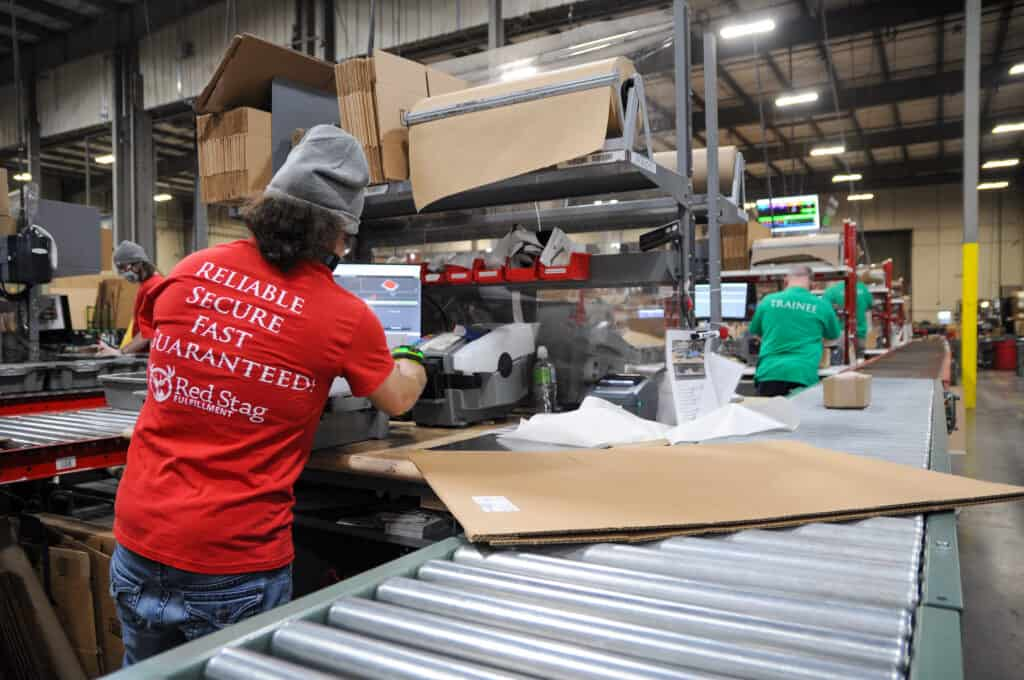 Red Stag Fulfillment can help with your eCommerce fulfillment logistics