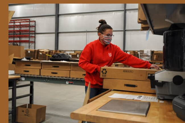 Red Stag is always looking for dedicated, highly-motivated people to join our team, especially to fill out our new warehouse in Sweetwater.