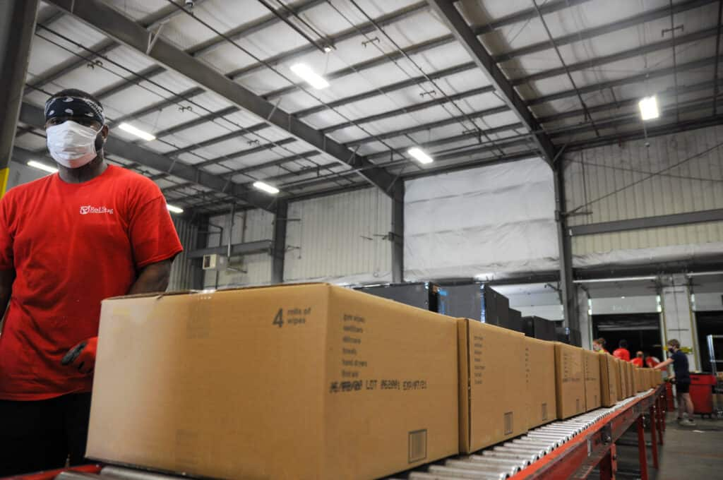 Ship large, oversized, or heavy packages with Red Stag Fulfillment.