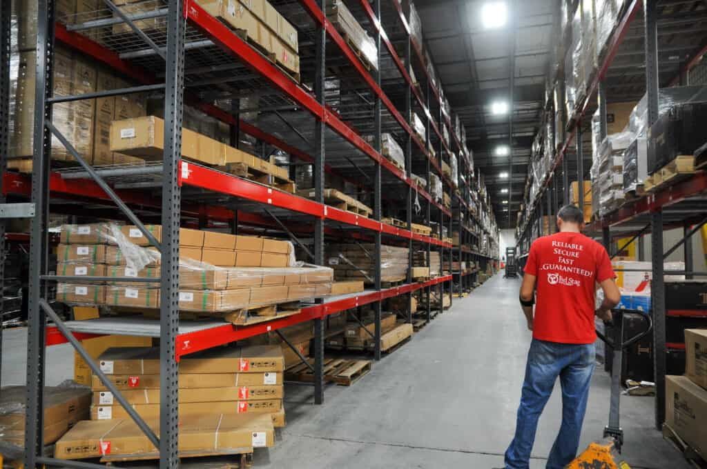 Warehouse inventory turnover ratio