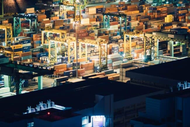freight importing consolidated containers