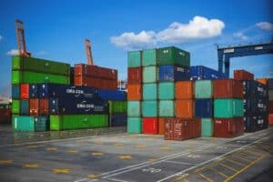 floor loaded containers