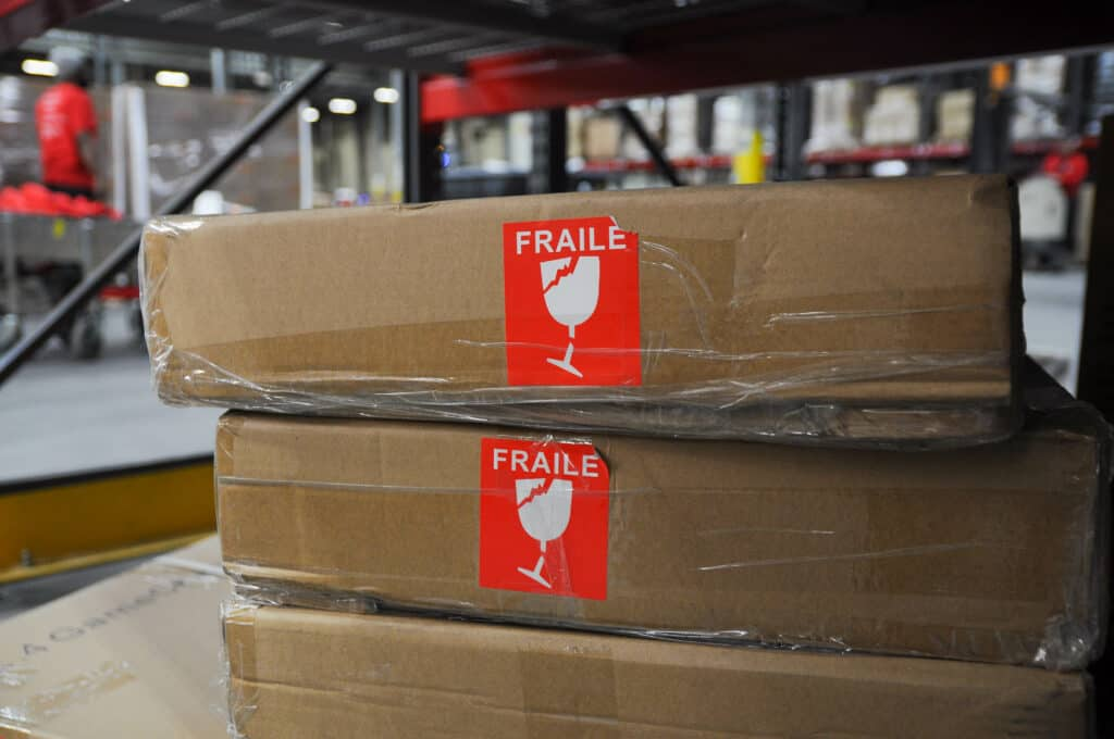 fragile products