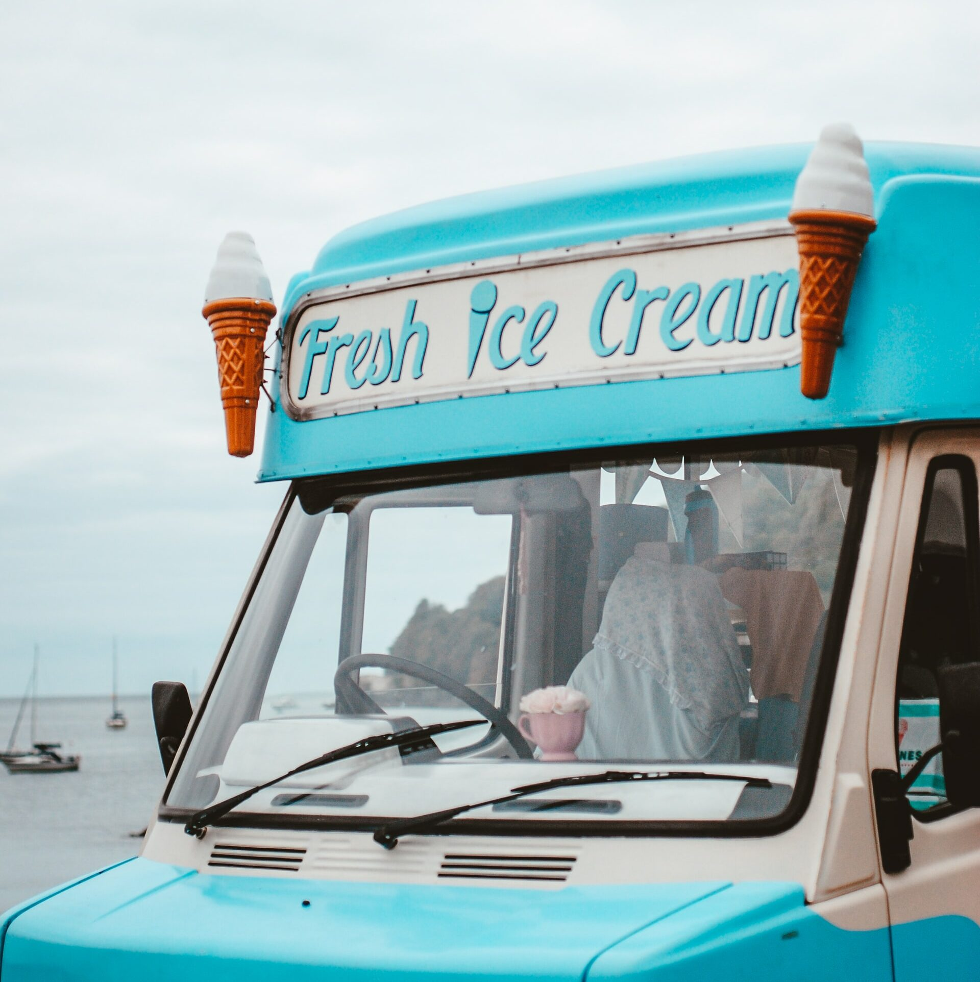 how to ship frozen food to local ice cream trucks