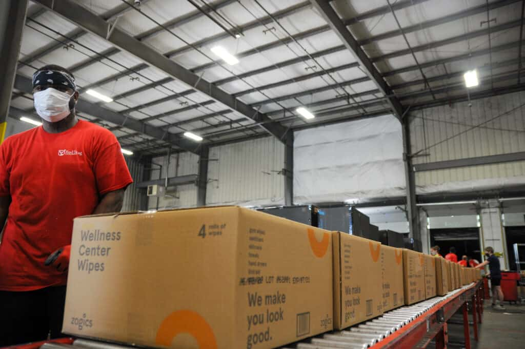 warehouse for shipping