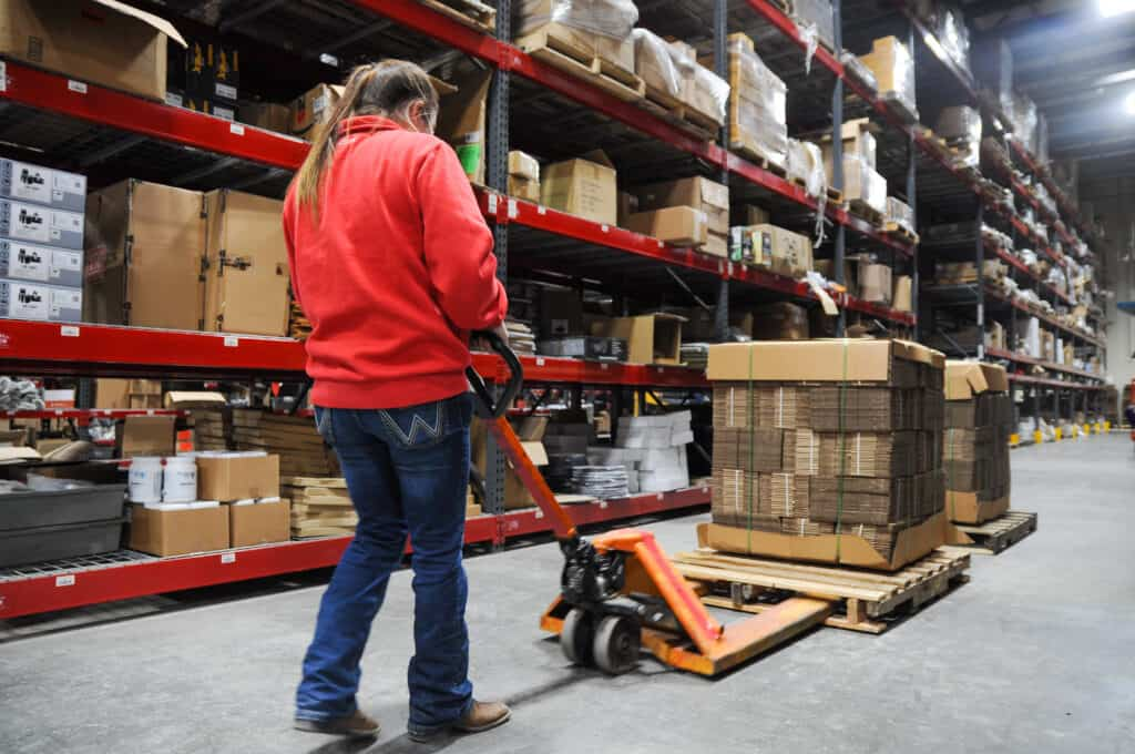 order fulfillment cost for receiving