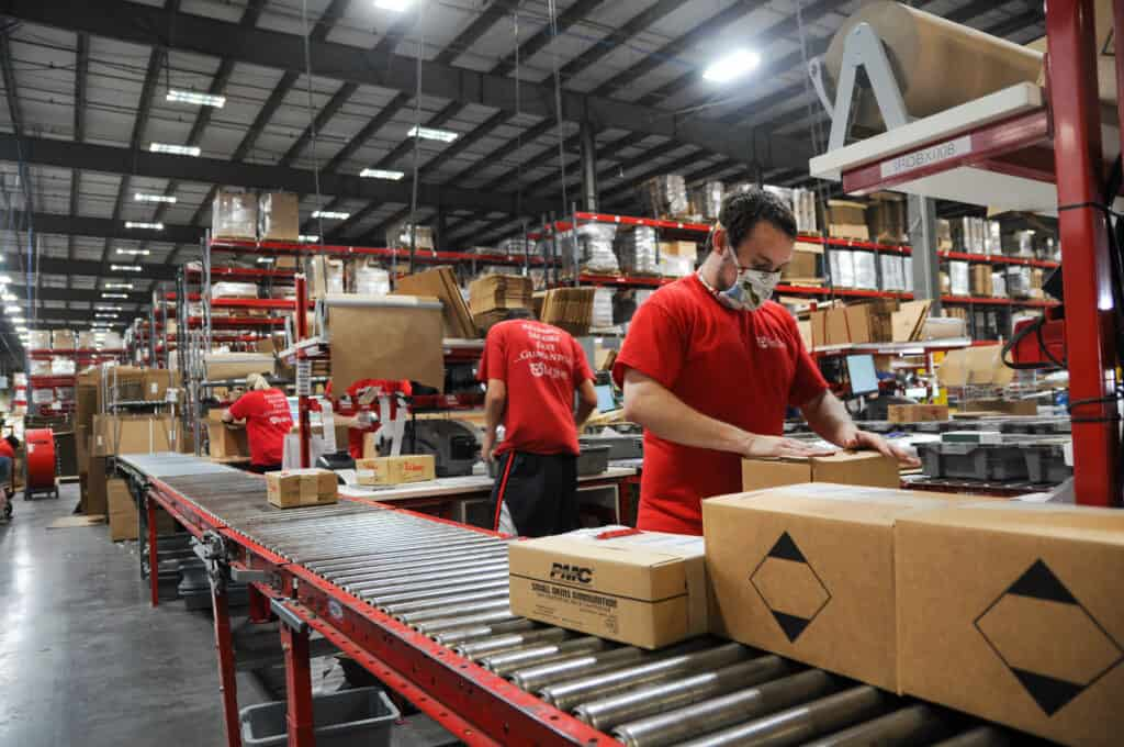 order processing during COVID