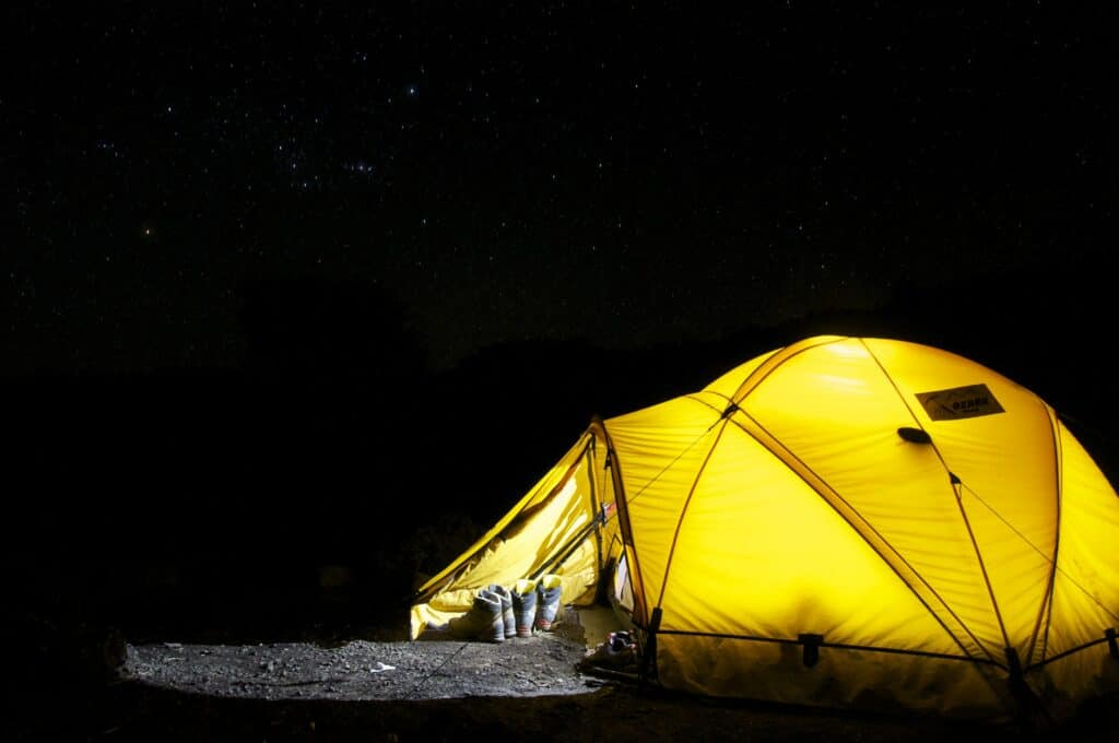 outdoor gear eCommerce product categories