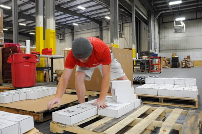 palletized shipping