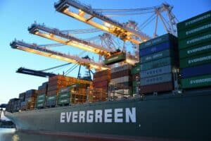 container ship demonstrates need for a backup plan