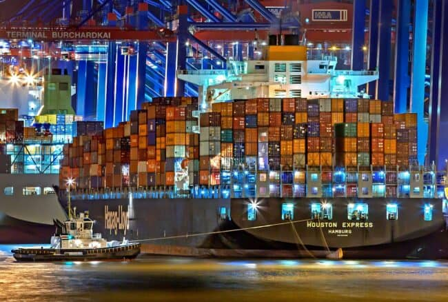 cargo in transit relies on freight forwarders