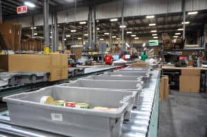 products awaiting fulfillment processing