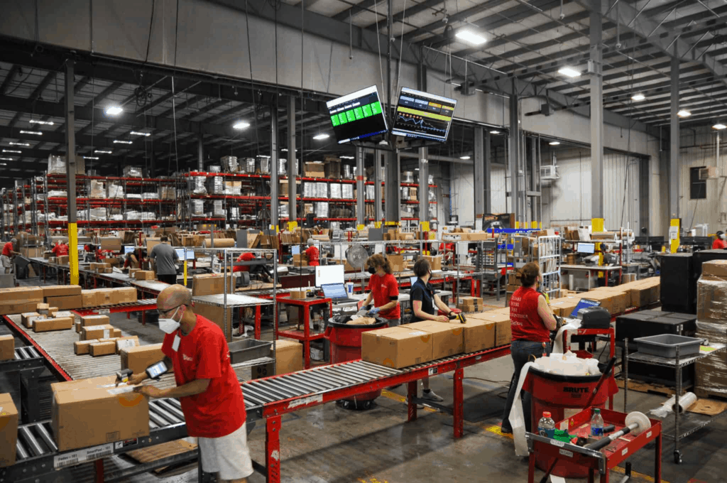 The Red Stag Fulfillment warehouse in Knoxville, Tenn.