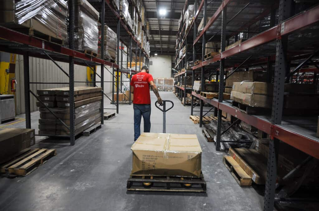 shipping large products